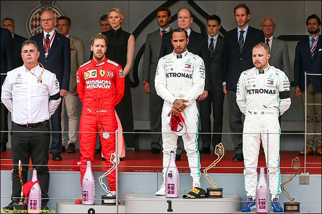Подиум Гран При Монако