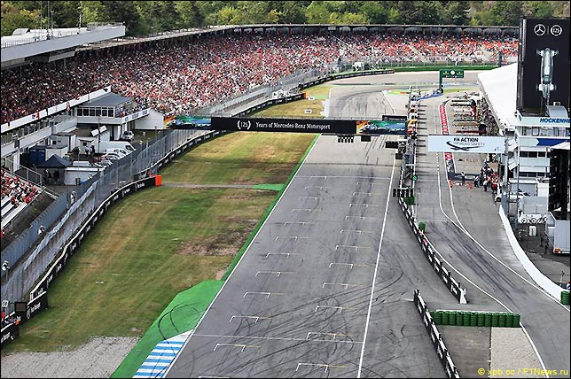 Стартовое поле Гран При Германии 2019