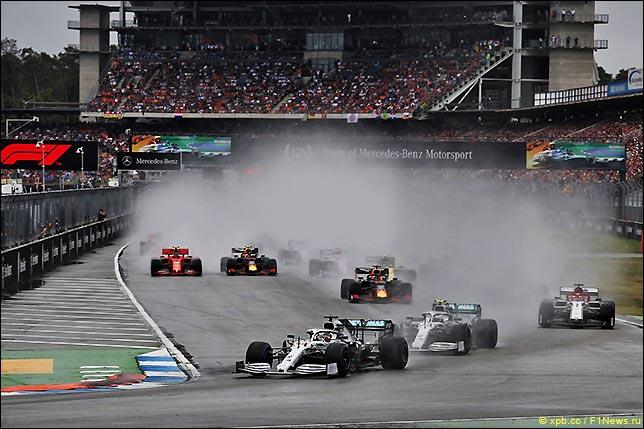 Старт Гран При Германии 2019