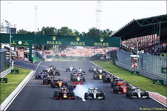 Старт Гран При Венгрии 2019