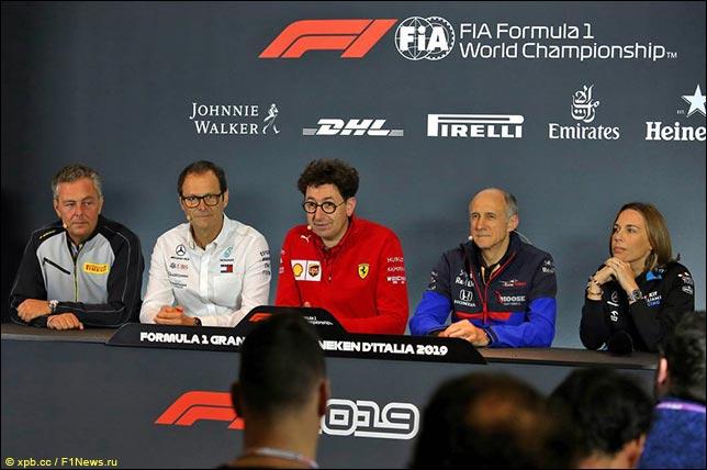 Гран При Италии: Пресс-конференция в пятницу