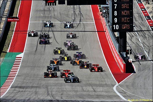 Старт Гран При США 2019