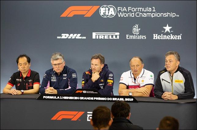 Гран При Бразилии: Пресс-конференция в пятницу. Фото: пресс-служба FIA