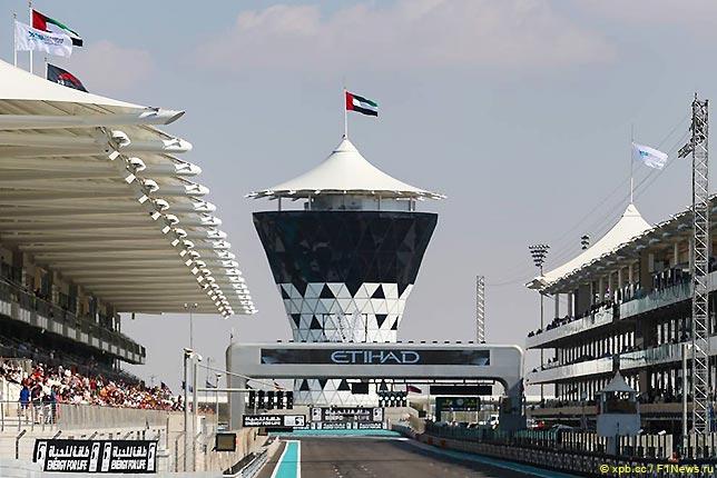 Стартовое поле Гран При Абу-Даби 2019