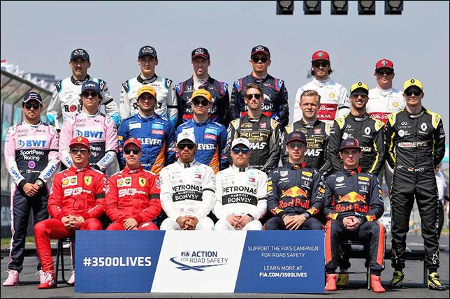 Групповая фотография перед стартом первой гонки сезона