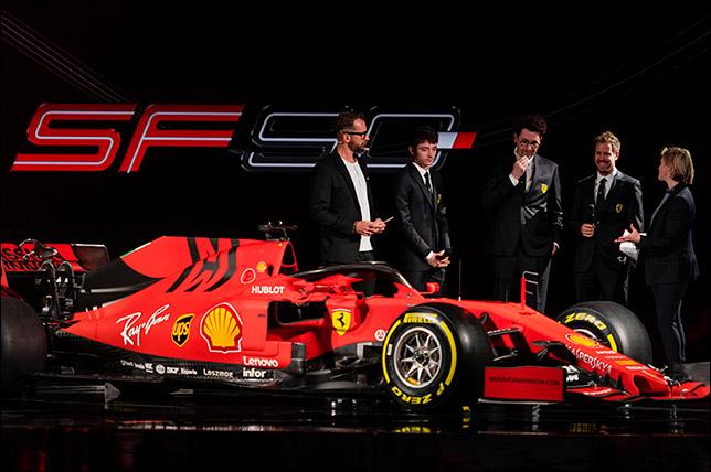 Презентация Ferrari SF90 в Маранелло