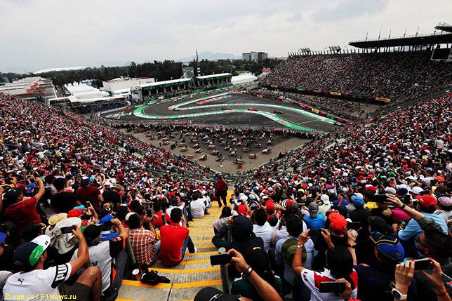 Гран При Мексики традиционно проходит при полных трибунах