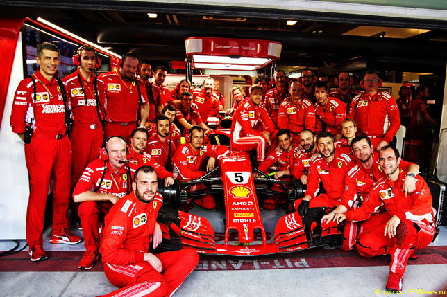 Команда Ferrari
