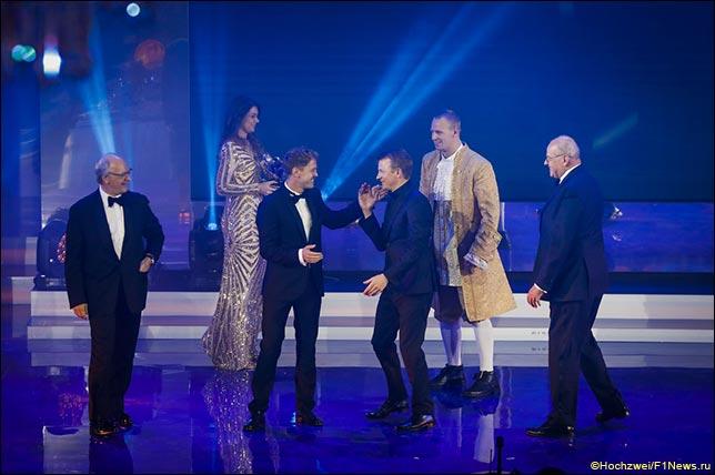 На церемонии награждения FIA Gala в Санкт-Петербурге