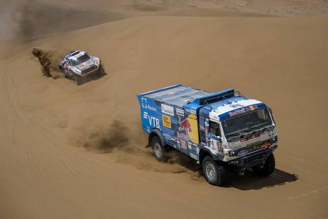 Андрей Каргинов на дистанции пятого этапа ралли-рейда Дакар