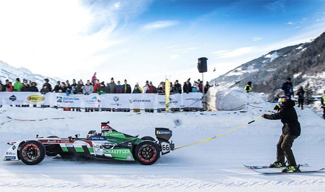 Формула E на ледяном треке