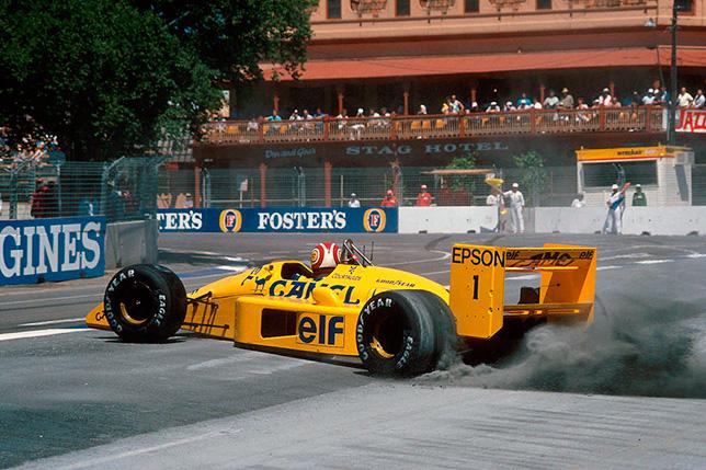 Нельсон Пике на Гран При Австралии 1988 года