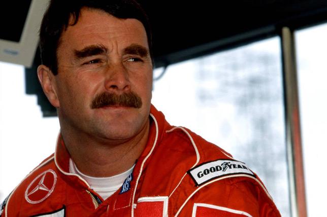 Найджел Мэнселл на Гран При Сан-Марино 1995 года. Фото McLaren