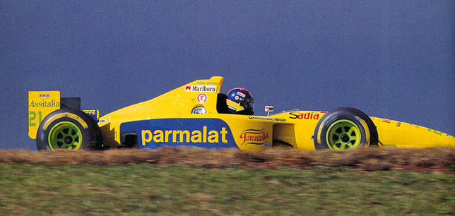 Педро-Паулу Диниц на Forti FG01, 1995 год