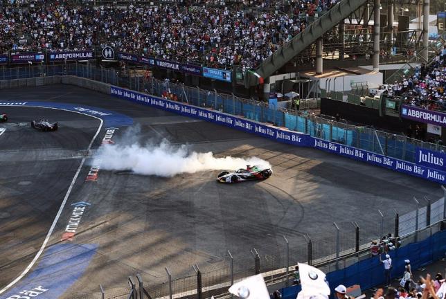 Формула E: Ди Грасси одержал неожиданную победу
