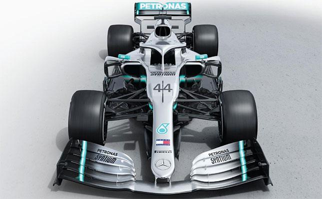 Машина Mercedes W10