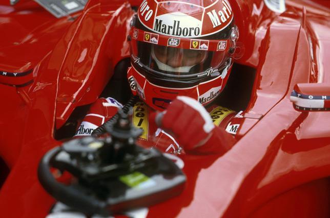 Михаэль Шумахер на Гран При Бельгии 2001 года