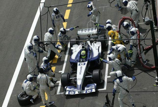 Ральф Шумахер на Гран При Франции 2003 года