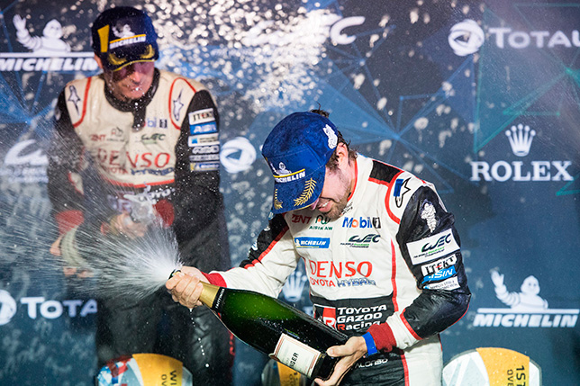 WEC: Алонсо победил в Себринге, экипаж SMP Racing 3-й