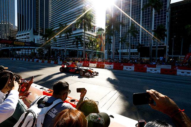 比赛在迈阿密不会穿过城市街道