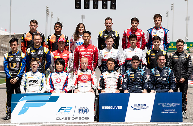 Фото: Все участники чемпионата Формулы 2