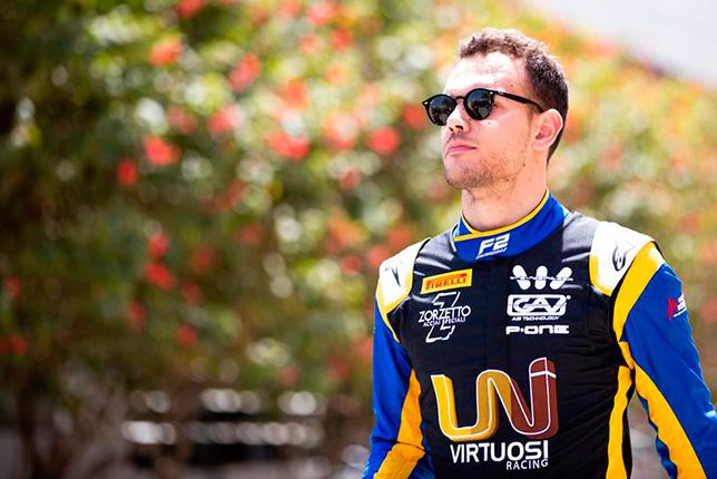 Ф2: Лука Гиотто завоевал первый поул сезона