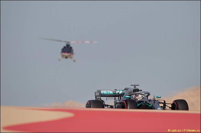在巴林测试安排车手