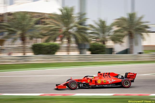 Мик Шумахер за рулём Ferrari на тестах в Барселоне
