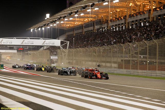 Старт Гран При Бахрейна