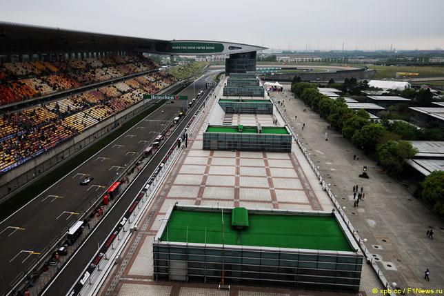 中国大奖赛:在周末天气