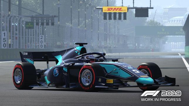在F1赛场2019公式2锦标赛将