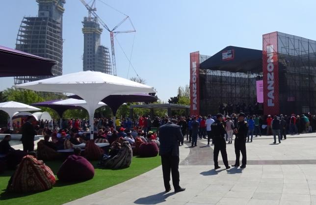 Фан-зона Baku City Circuit