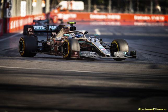 Машины Mercedes лучше других справляются с медленными поворотами в 2019 году
