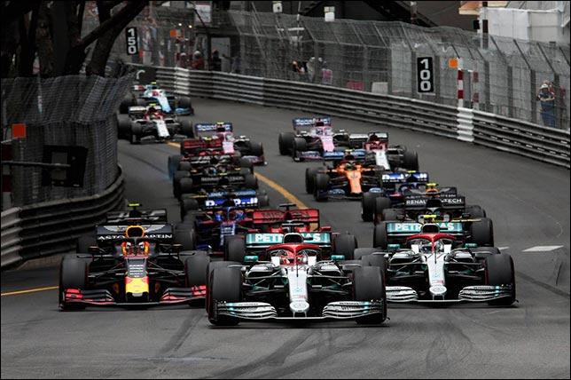 Старт Гран При Монако