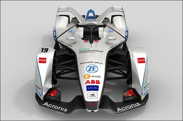 VENTURI и Acronis стали партнёрами в Формуле Е