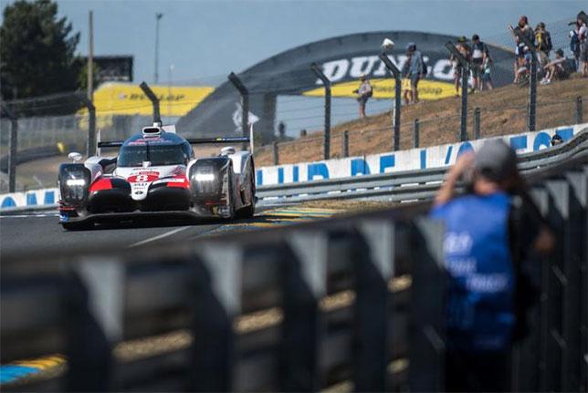 WEC: Toyota доминирует на тестах в Ле-Мане