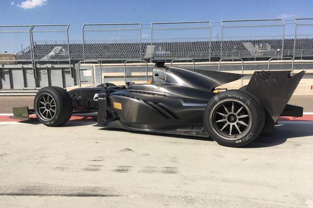 Тесты 18-дюймовых шин для Формулы 2