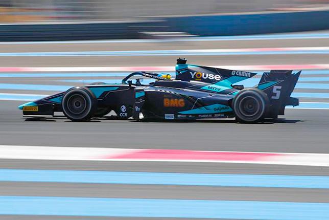 Ф2: Серхио Сетте Камара завоевал поул во Франции