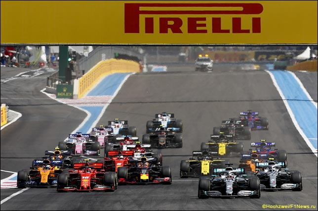 Старт Гран При Франции