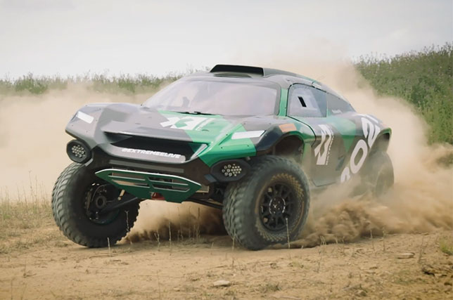 Представлена машина будущей серии Extreme E