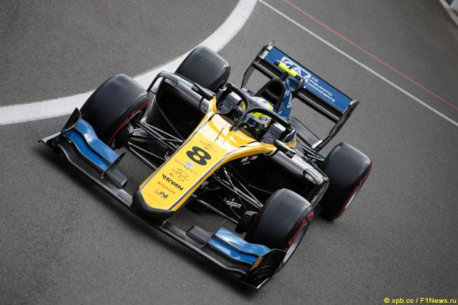 Ф2: Гиотто выиграл субботнюю гонку в Сильверстоуне