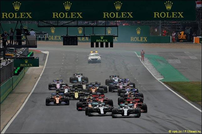 Старт Гран При Великобритании