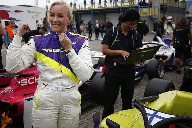 Эмма Кимиляйнен - победительница квалификации в Ассене