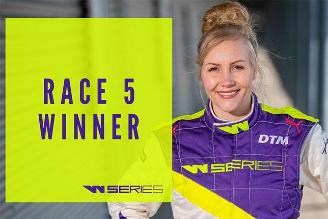 W Series: Эмма Кимиляйнен одержала первую победу