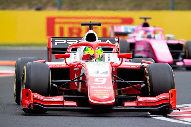 Ф2: Мик Шумахер выиграл спринт в Венгрии