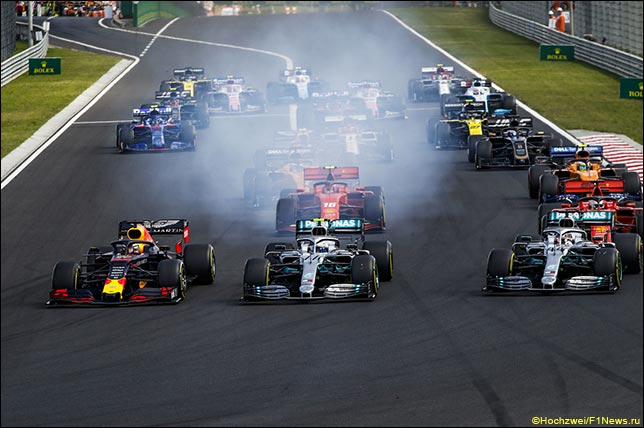 Старт Гран При Венгрии