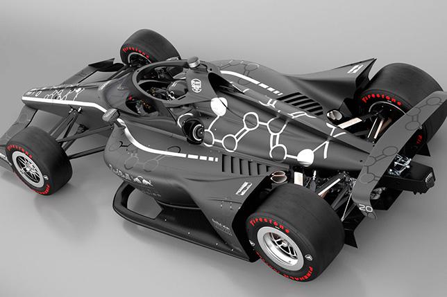 С 2022 года IndyCar перейдёт на гибридные моторы