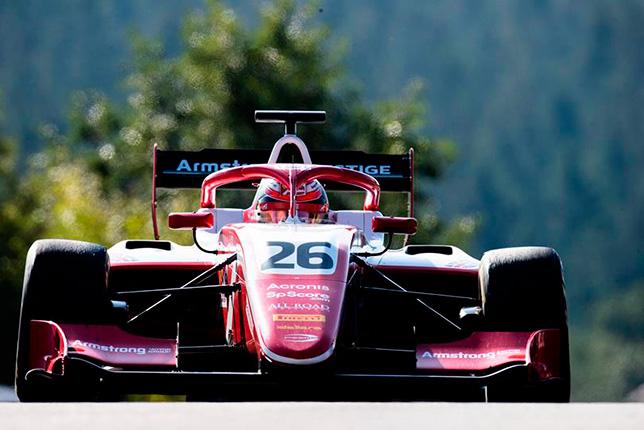 Ф3: Армстронг выиграл воскресную гонку в Спа