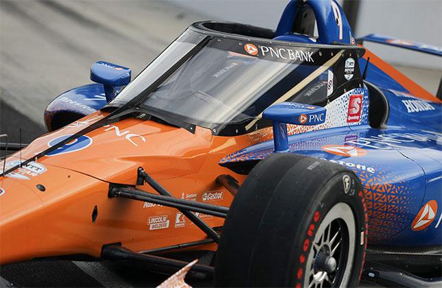 В IndyCar провели успешные испытания Aeroscreen
