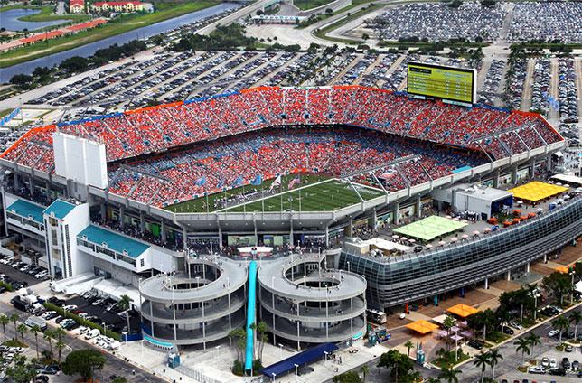 Комплекс Hard Rock Stadium в Майами